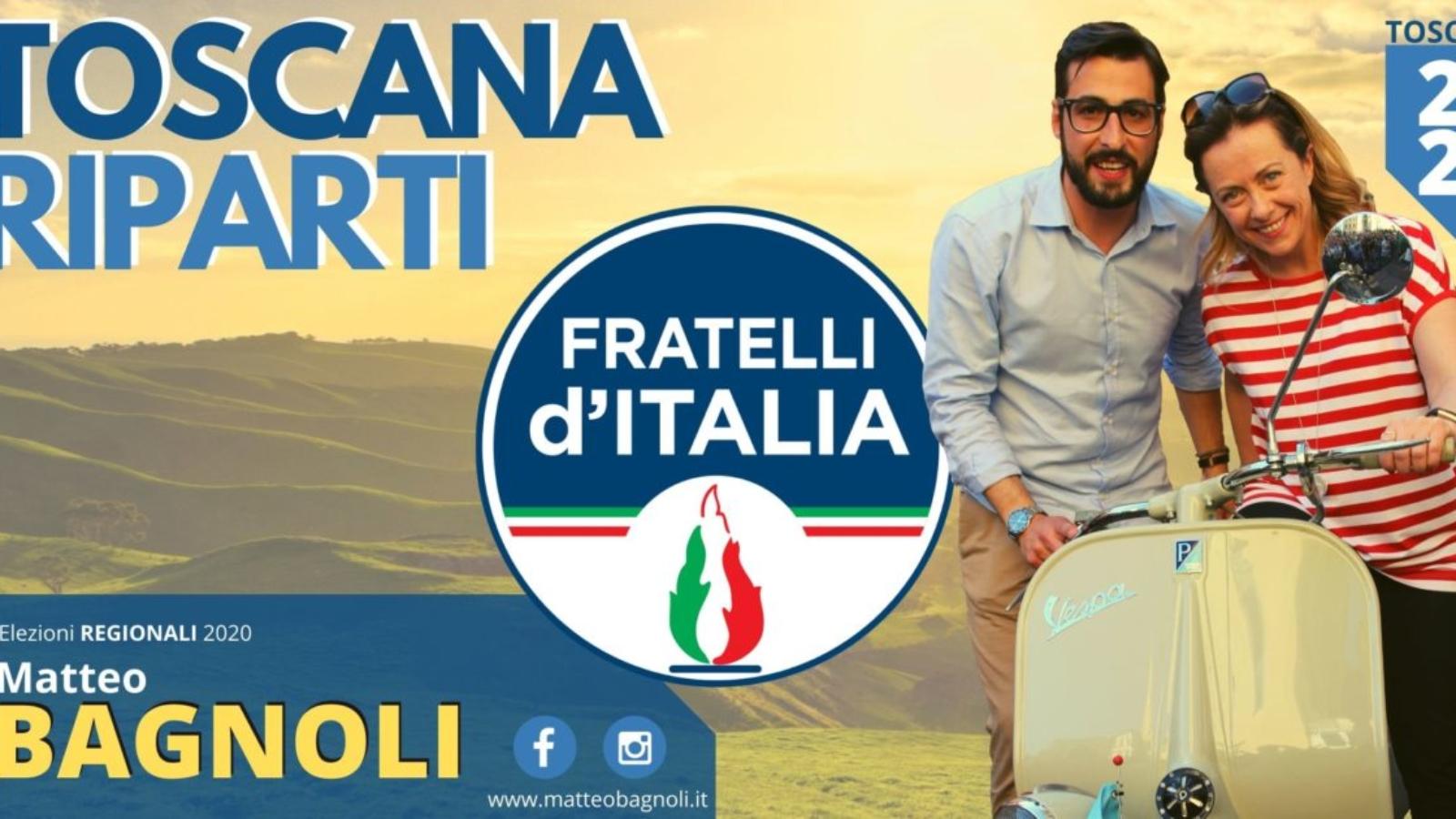 Candidato al Consiglio Regionale della Toscana-2